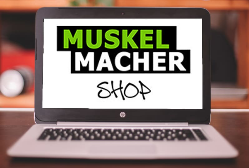 Muskelmacher Shop Referenz
