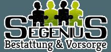 Das Logo der Segenius GmbH