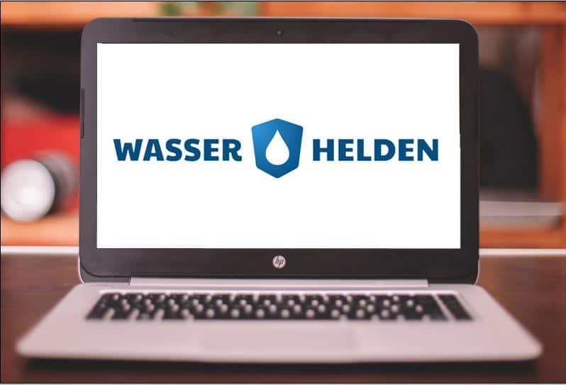Wasserhelden Logo